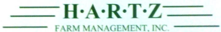 Hartz Farm Management Inc