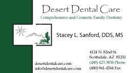 Desert Dental Care: Sanford, Stacey L DDS MS