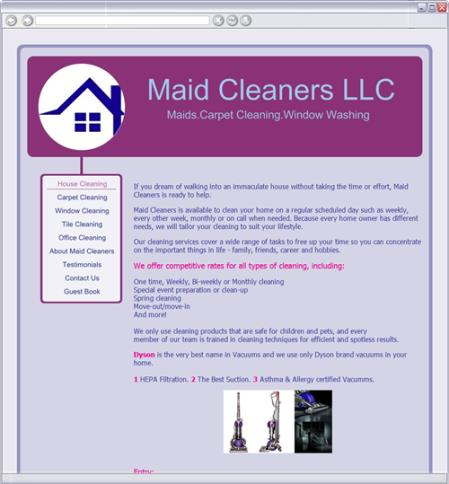 Maid Cleaners LLC