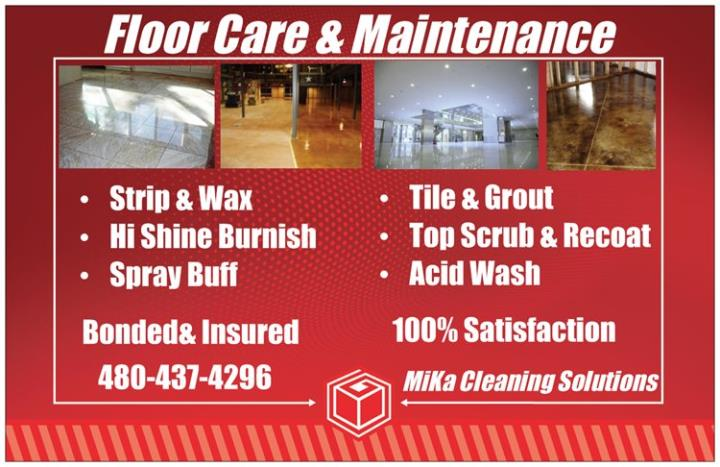 MiKa Cleaning Solutions LLC