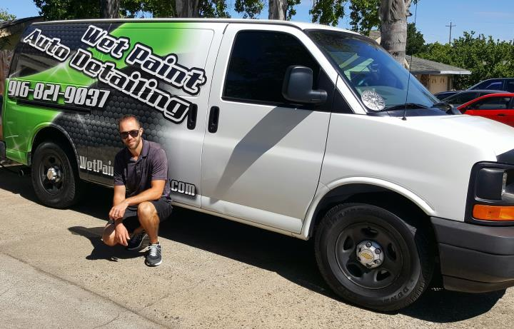 Wet Paint Auto Detailing in Rocklin