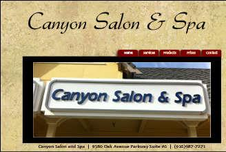 Stephanie at Canyon Salon and Spa