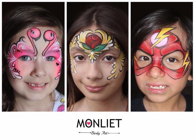 Monliet face paint services