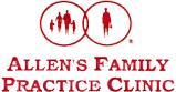 Allen's Family Practice Clinic: Allen Gregory J MD