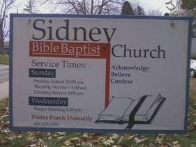 Sidney Bible Baptist Church